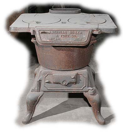 Antique Heaters and Stoves For Sale - American Boiler Laundry