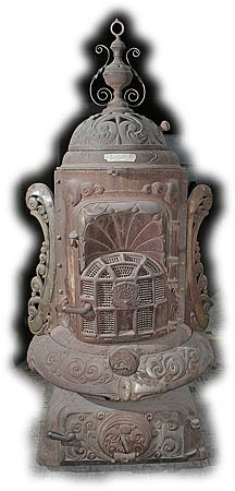 Antique Heaters and Stoves For Sale - Garland Oak Smokeless #165A