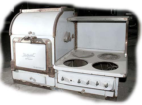 Vintage c 1924 Hotpoint Stove Range eBay